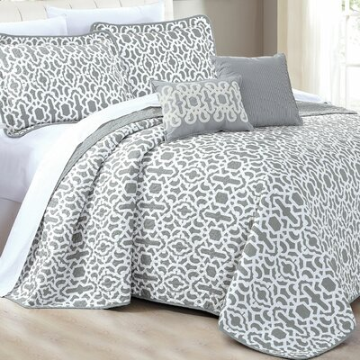Montgomery 5 Piece Quilt Set Size: Queen