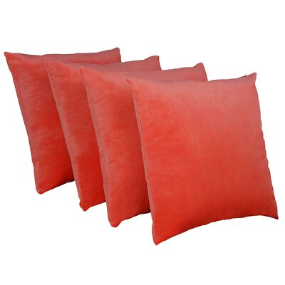 Eason Supersoft Shell Pillow Cover Color: Fiesta