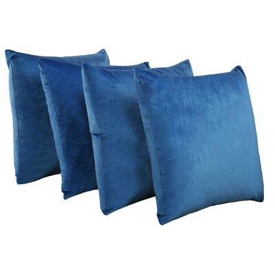 Eason Supersoft Shell Pillow Cover Color: Snorkel Blue