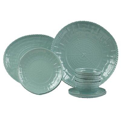 Woven 14 Piece Dinnerware Set 50013