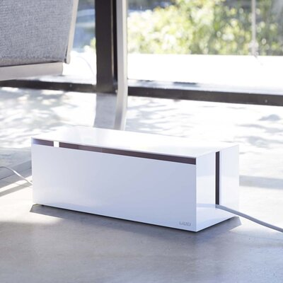 Web Cable Box Color: White