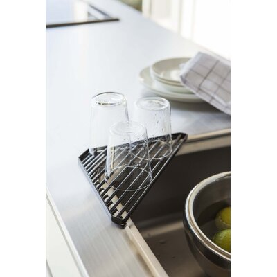 Tower Sink Corner Shelf Finish: Black