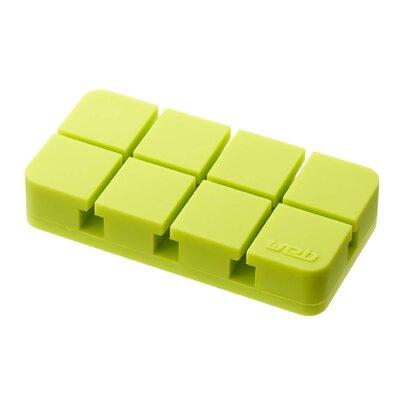 Web Cord Organizer Color: Green