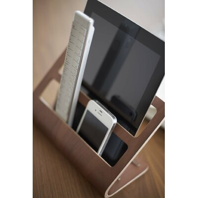 Rin Plywood Remote Controller Rack Color: Brown