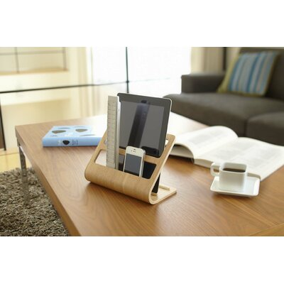 Rin Plywood Remote Controller Rack Color: Beige