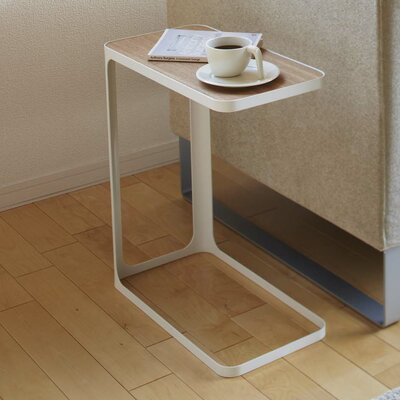 Frame End Table Finish: White