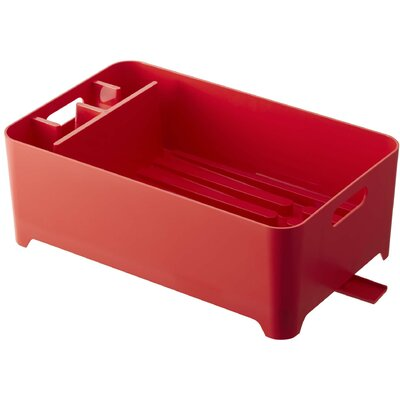 Tower Dish Drainer Finish: Red