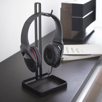 Beautes Headphone Stand Finish: Black