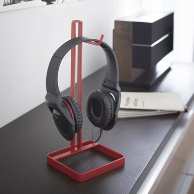 Beautes Headphone Stand Color: Red