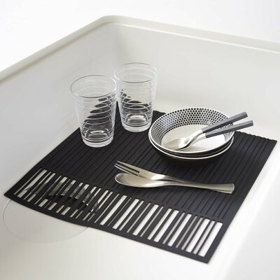 Tower Sink Mat Finish: Black