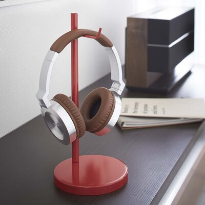 Beautes Headphone Stand Finish: Red