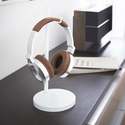 Beautes Headphone Stand Finish: White