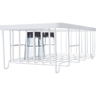 Tower Wire Dish Drainer Rack Finish: White