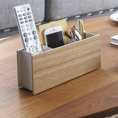 Multimedia Remote Control Holder Finish: Beige