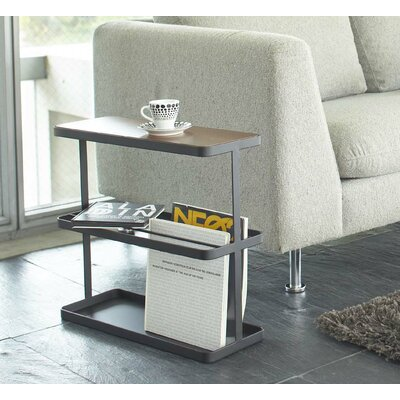 Tower End Table Color: Black