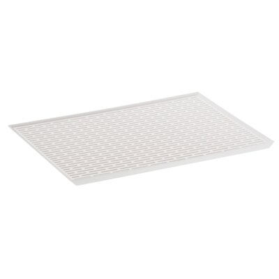 Tower Side Glass Drain Tray Finish: White