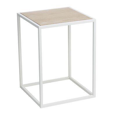 Robitaille End Table Color: White