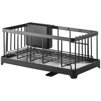 Tower Wire Dish Drainer Rack Finish: Black