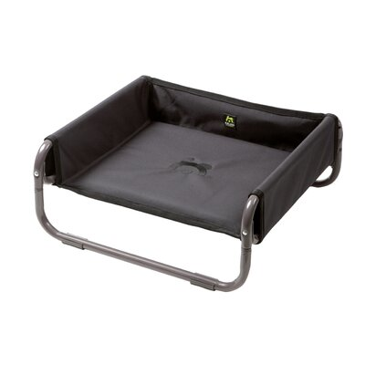 Maelson� Soft Dog Bed Size: 22 L x 22 W, Color: Anthracite