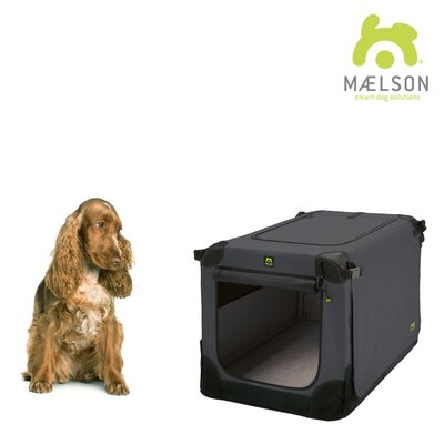 Maelson� Soft Kennel Size: 20.8 H x 20.8 W x 28 L, Color: Black / Anthracite