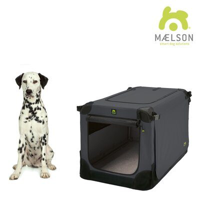 Soft Kennel Size: 23.2 H x 23.2 W x 32 L, Color: Black / Anthracite