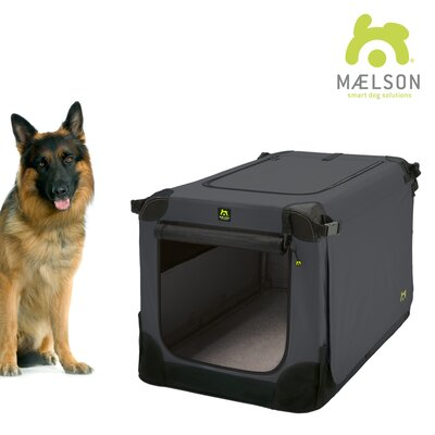 Soft Kennel Size: 31.9 H x 28.3 W x 42 L, Color: Black / Anthracite