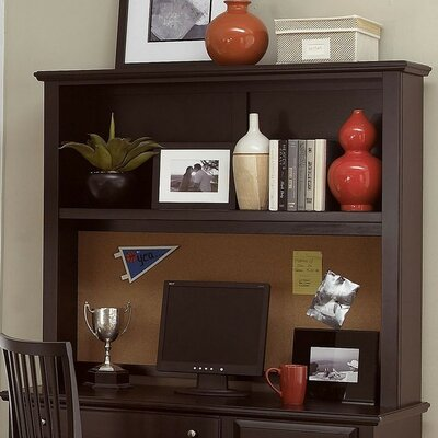 45 H x 52 W Desk Hutch Finish: Merlot
