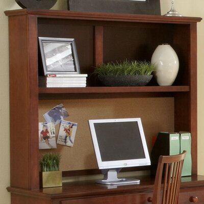 45 H x 52 W Desk Hutch Finish: Cherry