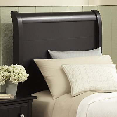 Marquardt Sleigh Headboard Size: Full, Finish: Black