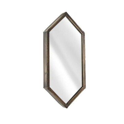 decorative accents - Sagebrook Home Metal Hexagon Wall Mirror - Sagebrook Home Wall and Accent Mirrors