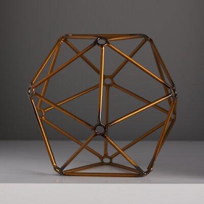 "Ada Decorative Orb Size: 8.3"" H x 9.8"" W x 9.8"" D AM10332-01"