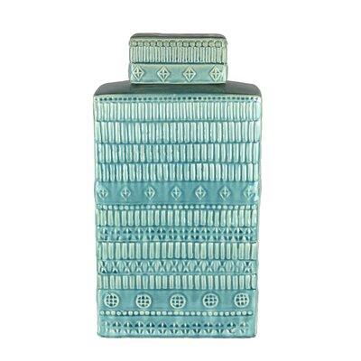 Ceramic Decorative Box Color: Light Blue