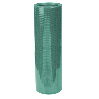 Modern & Contemporary Ceramic Table Vase Color: Green, Size: 11