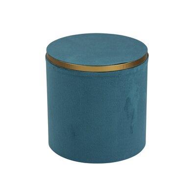 Light Blue Velveteen Accessory Box