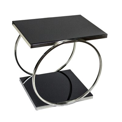 Angelina Chrome End Table