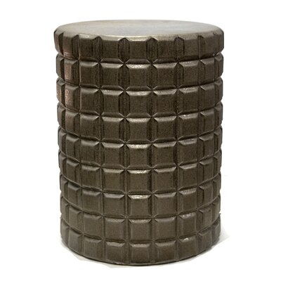 Sagebrook Home Sterling Garden Stool Color: Gold