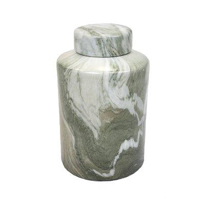 """Decorative Jar Size: 13.5"""" H x 8.5"""" W x 8.5"""" D 10494"""