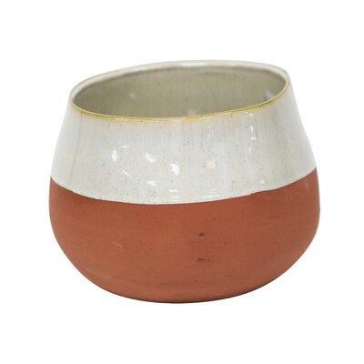 Milena Two Tone Decorative Ceramic Table Vase