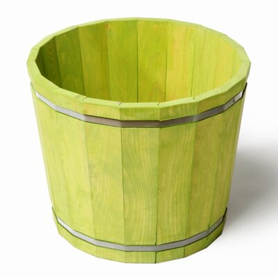 Pine Barrel Planter KPLG899