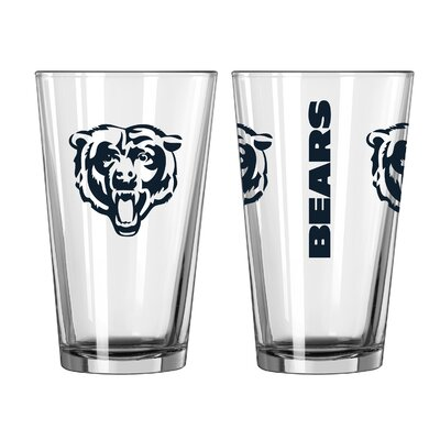 NFL 16 Oz. Pint Glass NFL Team: Chicago Bears 187493