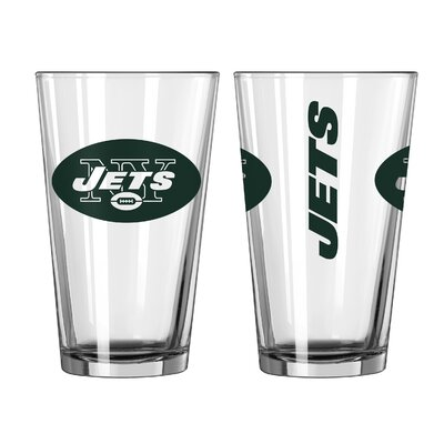 NFL 16 Oz. Pint Glass NFL Team: New York Jets 187509
