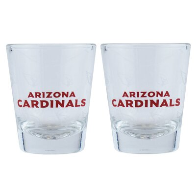 NFL Shot Glass Cup NFL Team: Arizona Cardinals BOFBARISH