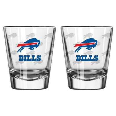 NFL Shot Glass Cup NFL Team: Buffalo Bills BOFBBUFSH
