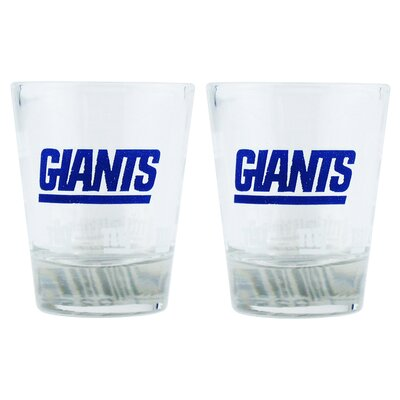 NFL Shot Glass Cup NFL Team: New York Giants BOFBNYGSH