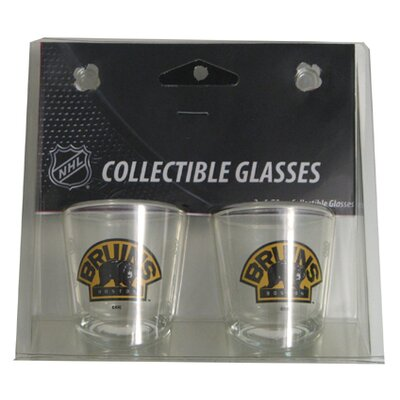 NHL Shot Glass Cup NHL Team: Boston Bruins BOHKYBOSSH