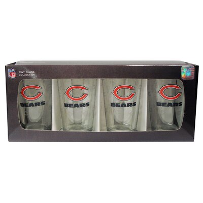 NFL Pint Glass NFL Team: Chicago Bears BOFBCHIPI4