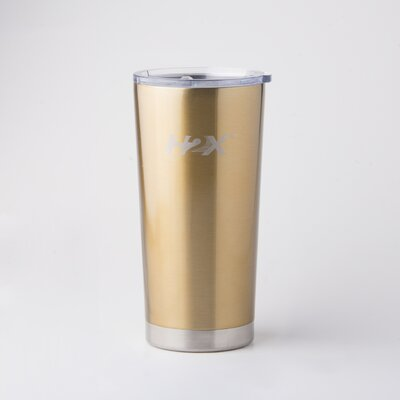 Ultra 20 oz. Stainless Steel Travel Tumbler Color: Gold 446811