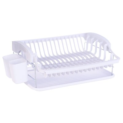 Plastic Free-Standing Drying Rack 3703-W