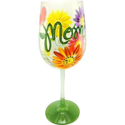 Mothers Day Wine Glass