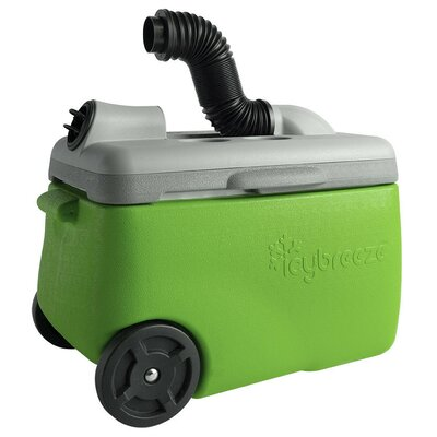 38 Qt. Portable Air Conditioner & Cooler Flurry Color: Green 4038A-IBUFG